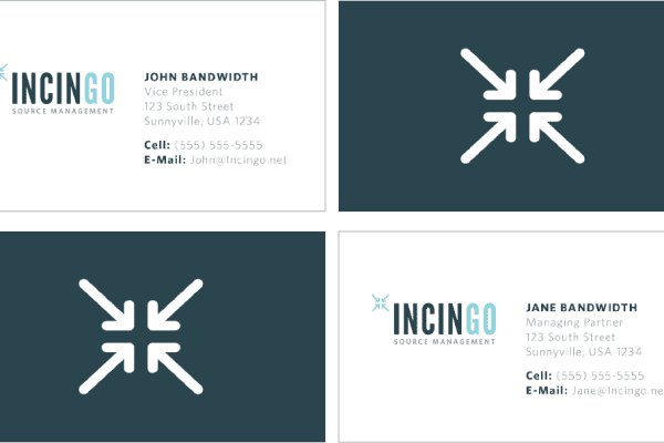 Incingo Business Card Mockup