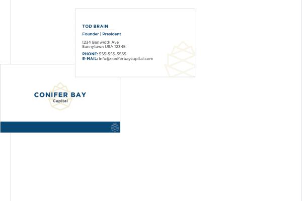 Conifer Bay Capital Letterhead Mockup