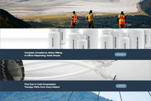 WRS Website Homepage