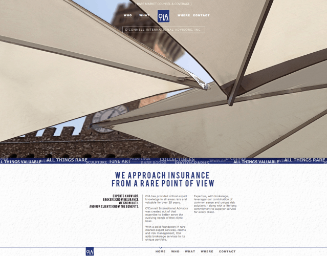 OIA Homepage